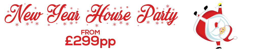 New Year House Party from £299pp